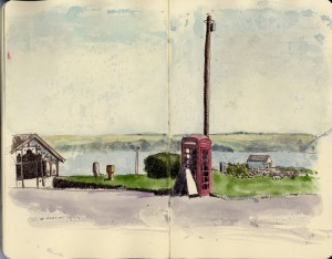 wf-red-telephone-box-cowal